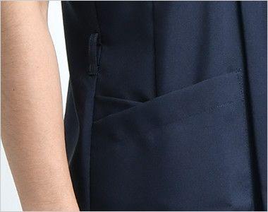 7028SC FOLK(フォーク) メンズ ジップスクラブ(男性用)  便利なループと小分けポケット