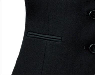 FV35950 nuovo(ヌーヴォ) ベスト 無地 ポケット付き