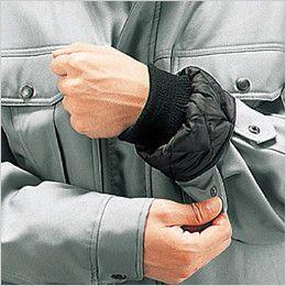 自重堂 48140 エコ防寒ブルゾン(フード付・取り外し可能) ジャージ仕様