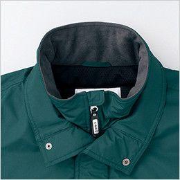 自重堂 48383 シンサレートウルトラ防水防寒コート(フード付・取り外し可能) 二重衿仕様