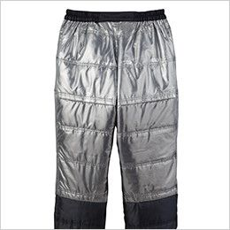 自重堂 48481 メガヒート 裏アルミ防寒パンツ 軽射熱を利用し軽量で暖かいアルミプリント