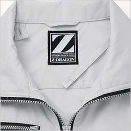 自重堂Z-DRAGON 74080 [春夏用]空調服 長袖ブルゾン ポリ100% 首元の調整ヒモ
