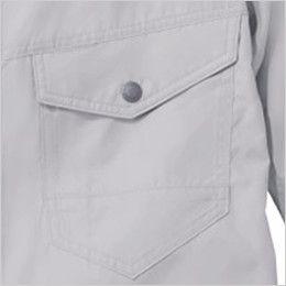 自重堂Z-DRAGON 74080 [春夏用]空調服 長袖ブルゾン ポリ100% 左胸 ポケット