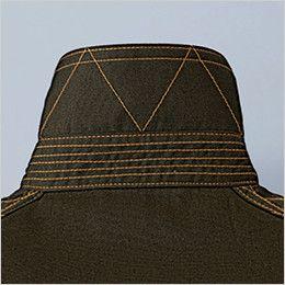自重堂Z-DRAGON 75404 サマーツイル長袖シャツ 通年 衿裏飾りステッチ