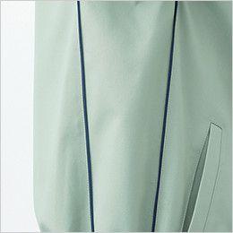 自重堂 85514 [春夏用]製品制電半袖シャツ(JIS T8118適合) デザインパイピング