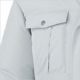 自重堂 87000 [春夏用]空調服 長袖ブルゾン ポリ100% ポケット