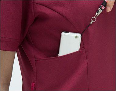 ML1142 ナガイレーベン(nagaileben) エムエル ハイブリッドメディウェア チュニック(女性用) PHSポケット