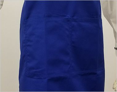 10032 桑和 胸当てエプロン(ペン差し付き) X型(男女兼用) 大きめのポケットが2つ