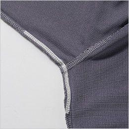 7045-51 G・GROUND 半袖ポロシャツ(胸ポケット付き) 不快なニオイを軽減するデオドラントテープ付き