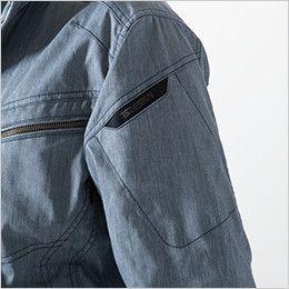5306 TS DESIGN [春夏用]ライトテックロングスリーブジャケット (男女兼用) マルチスリーブポケット仕様+TSデザインロゴ刺繍入り