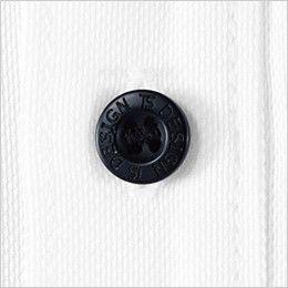 81305 TS DESIGN ES ワークニットロングポロシャツ(男女兼用) 4つ穴ボタン