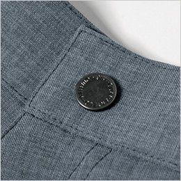 ジーベック 1815 [春夏用]カラーストレッチハーフパンツ(男性用) 薄型ドットボタン