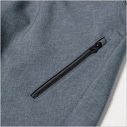ジーベック 1815 [春夏用]カラーストレッチハーフパンツ(男性用) ファスナーポケット付き