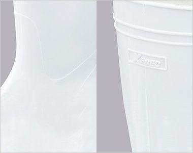 ジーベック 85760 耐油長靴 先芯なし アッパー素材に抗菌・防カビ剤を配合した高機能タイプの衛星長靴です。