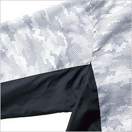 ジーベック XE98006 [春夏用]空調服 迷彩半袖ブルゾン ポリ100% 配色使用