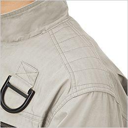 ジーベック XE98102 [春夏用]空調服 ハーネス対応 綿100%現場服ブルゾン 肩切替刺し子肩当て付き