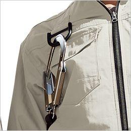 ジーベック XE98102 [春夏用]空調服 ハーネス対応 綿100%現場服ブルゾン フックかけDカン付き