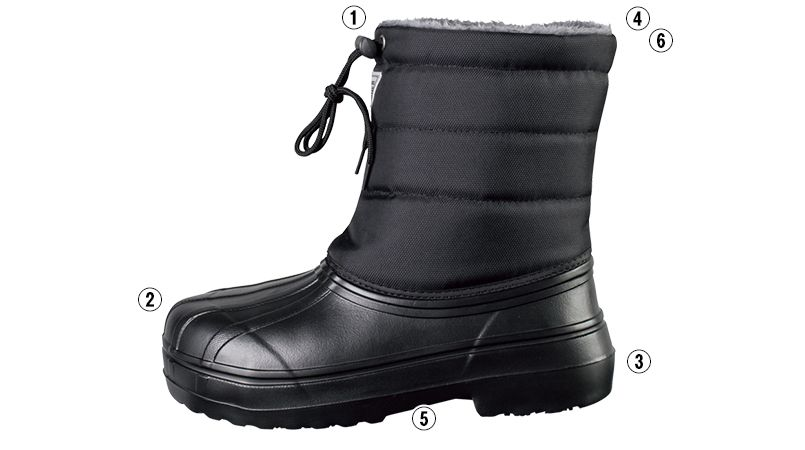 ジーベック 85714 ボア付きEVA防寒長靴(ブーツ) 商品詳細・こだわりPOINT