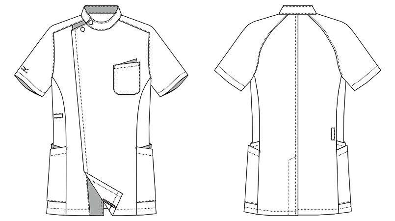MZ-0161 ミズノ(mizuno) ジャケット(男性用) ハンガーイラスト・線画