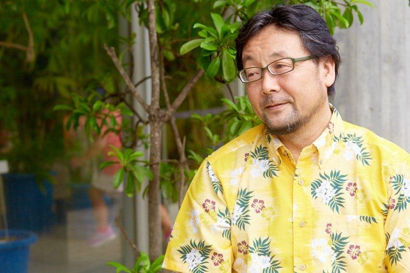 東京都夢の島熱帯植物館、館長の榎本様